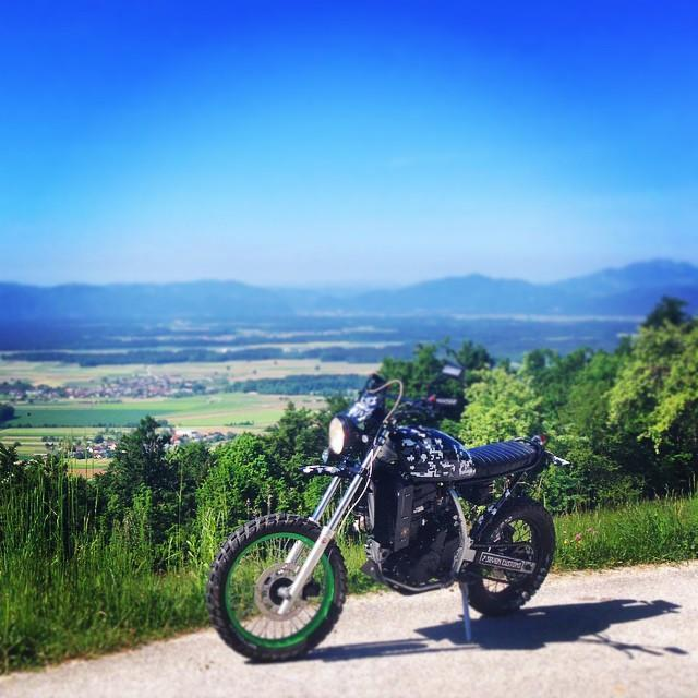 Great day 2 have some #fun with #monster #scrambler #kawasaki…