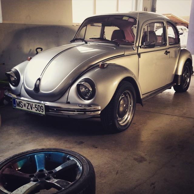 #vw #beetle 1303 waiting for a new owner #vintage #volkswagen…