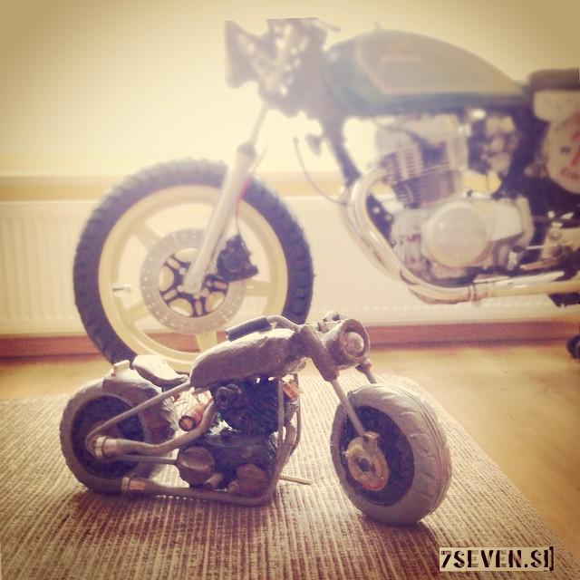 #motorcycle #art #bobber made by Ali - different models -…