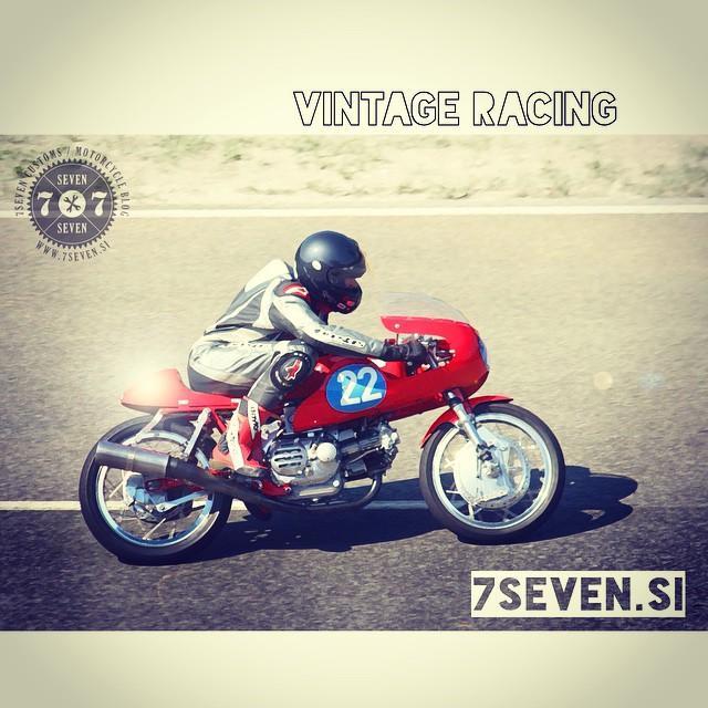 #tbt Vransko AMZS #vintage #racing #ducati #77 #77c #7sevencustoms