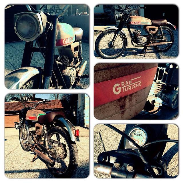 Garelli Gran Turismo #gt #moped #thecmc #cmc #thecustommopedcompany #sport #vintage…