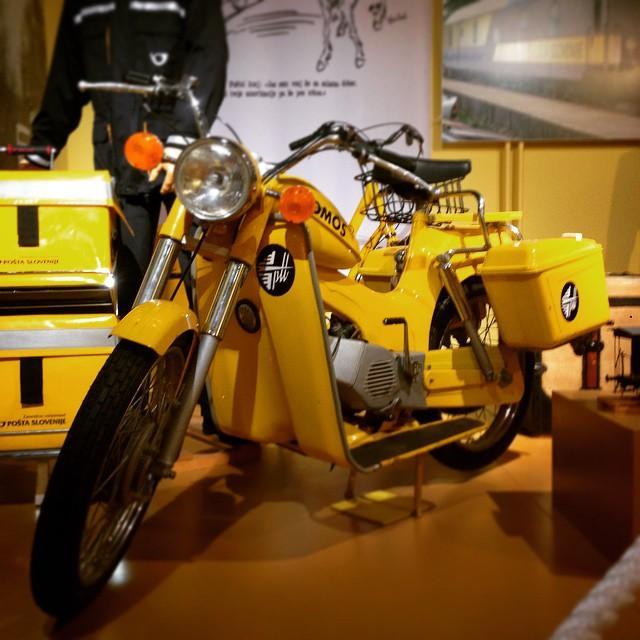 #vintage #tomos #moped #postmanride #yellowrocket #thecmc #cmc #thecustommopedco #77c #postman