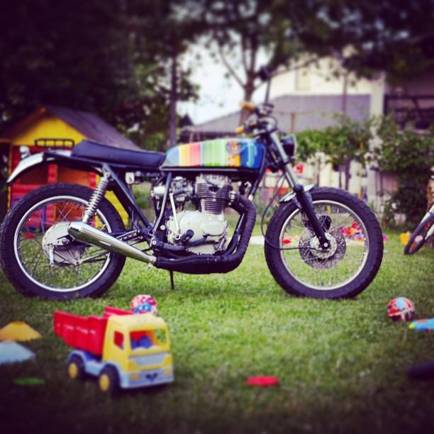 1979 honda 250 city scrambler custom motorcycle made in 7sevencustomshellip