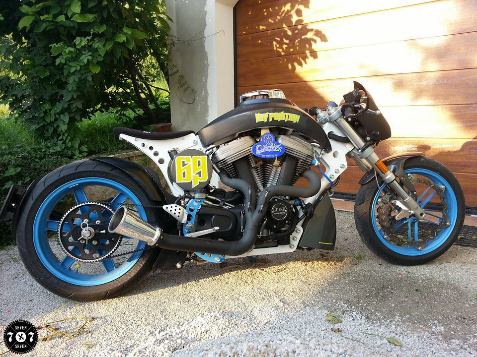 Fos Buell My Position 69 By Custom North 7seven Customs