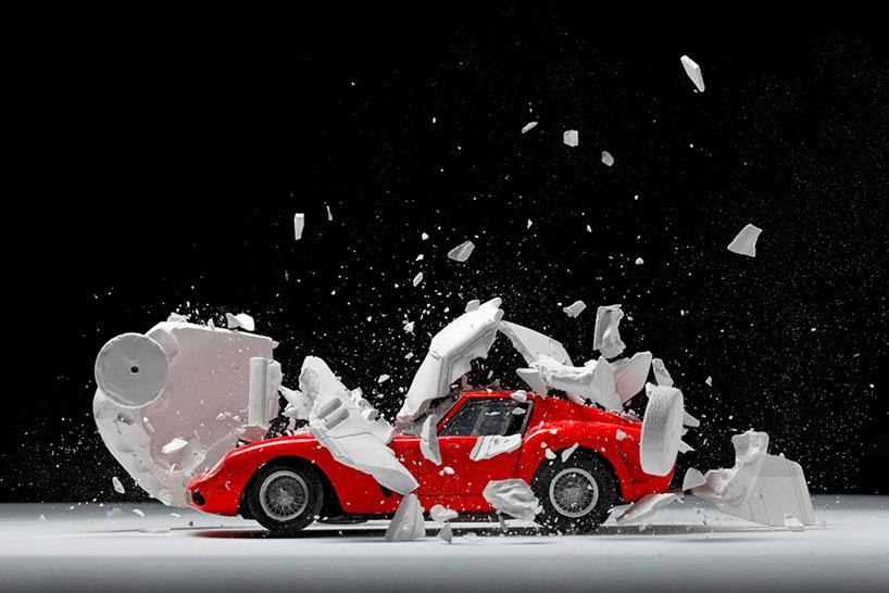 fabian oefner explodes views of classic sports cars designboom 03 fabian oefner explodes views of classic sports cars