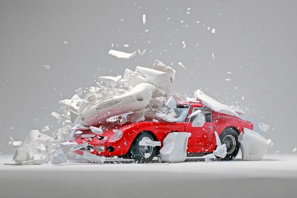 fabian oefner explodes views of classic sports cars designboom 04 600x400 fabian oefner explodes views of classic sports cars