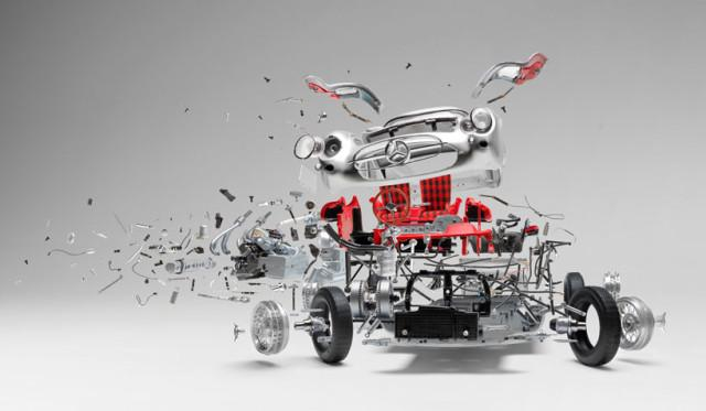 fabian oefner explodes views of classic sports cars designboom 15 640x373 fabian oefner explodes views of classic sports cars