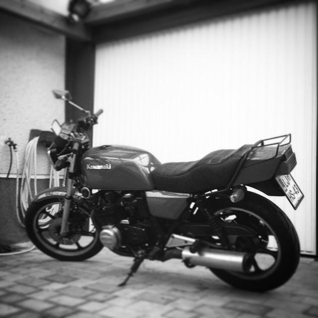 New #project #caferacer #kawasaki z750 #allstock4now #oldschoolmusclebike #77 #77c #7sevencustoms