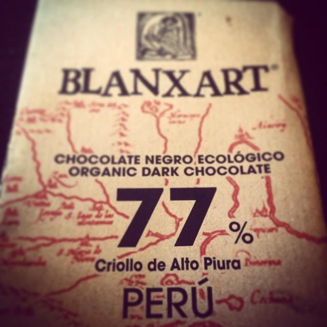 Love this #77 % #organic #dark #chocolate #77c #7sevencustoms  #peru #perucustoms #ilikemilkchocolatemore