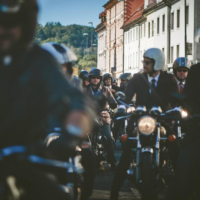 #DGR #ljubljana #people - group - #slovenia #charity #charityride #custom #classic #motorcycles #mustage #beard #event @gentlemansride #77 #77c #7sevencustoms #niceday