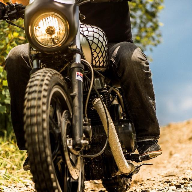 #7sevencustoms #dirt #bobber 77ss #77 #77c #7seven #custom #motorcycle #blog  http://7seven.si #honda